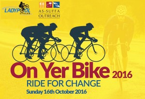 As-Suffa Outreach | On Yer Bike! 2016