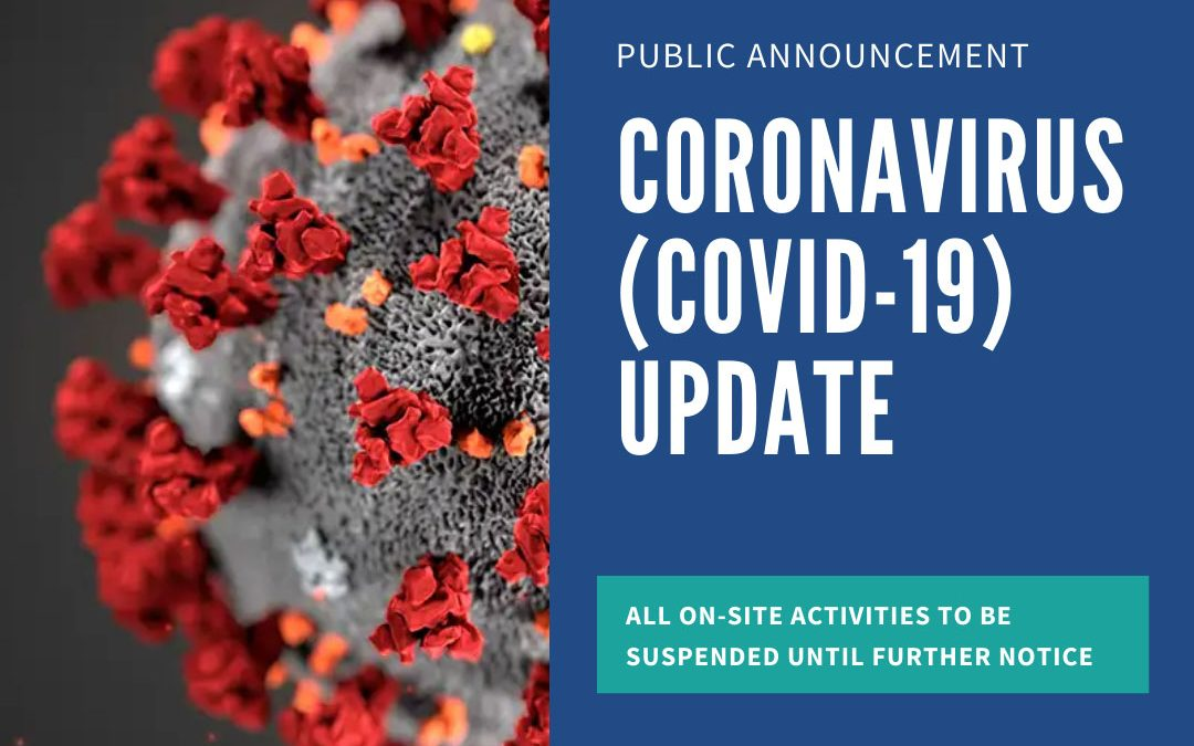 Public Announcement in Light of COVID-19 Updates