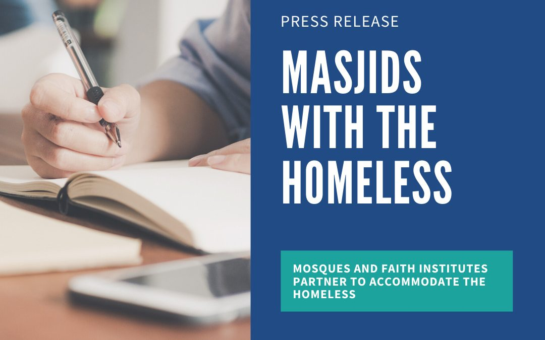 Masjids with the Homeless