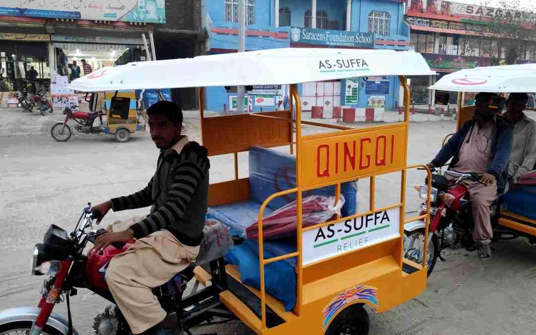 Rickshaw & food packs | Nov-Dec 2020